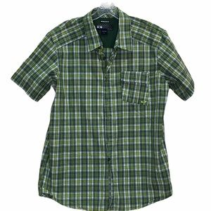 Oakley Plaid Regular Fit Casual Shirt Size Large
